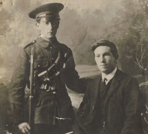 Brothers Gerald and Frank Keogh